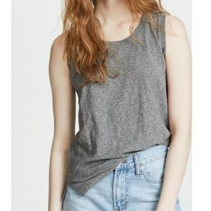 S Madewell Whisper Cotton Crewneck Muscle Tank